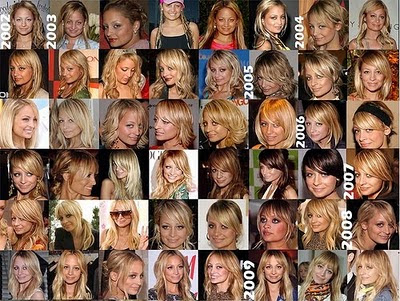 Nicole Richie hair styles