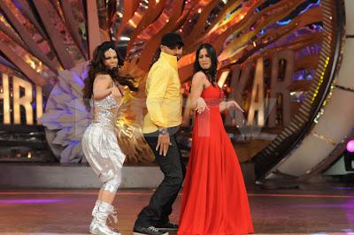Harbhajan Singh in a dance show