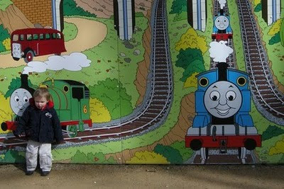 Thomas Land in Drayton Manor, U.K.