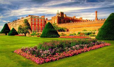 Hampton Court Palace Garden, England