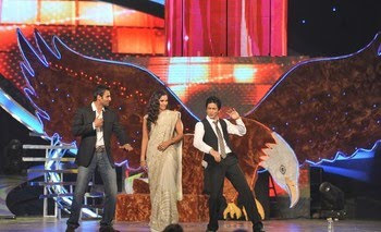 Sania Mirza and Shah Rukh Khan in Sahara Sports Award photos