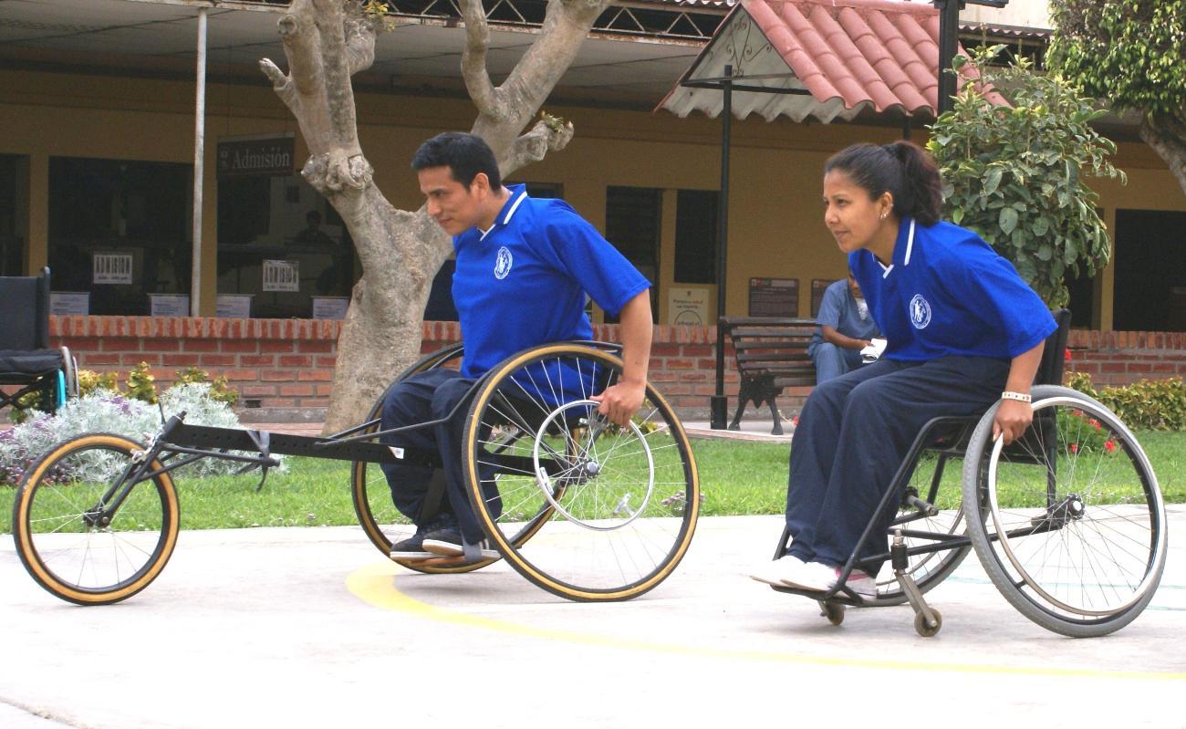 Deportes sin l mite inr organiza maraton en silla de ruedas por el d a internacional de la - Deportes en silla de ruedas ...