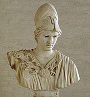 La diosa Atenea o Minerva