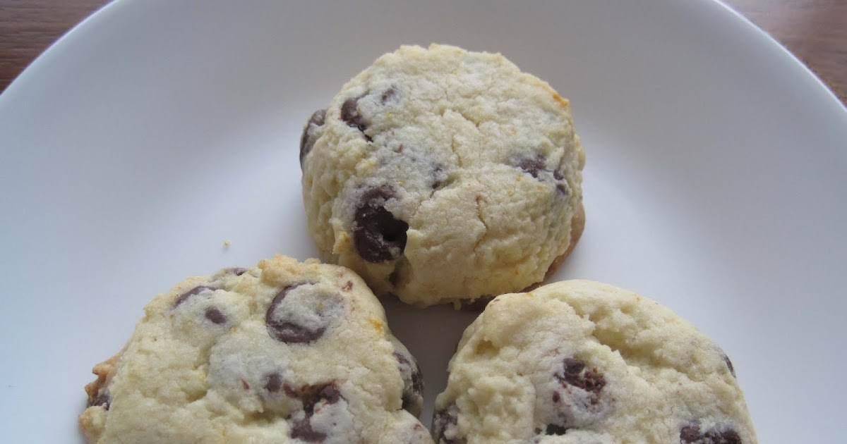 Yum Yum: Orange-Chocolate Shortbread Cookies