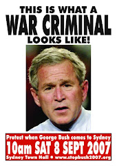 he is a war criminal