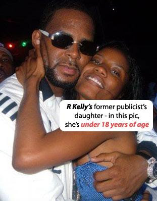 r kelly and his kids  Kelly Kids Pictures