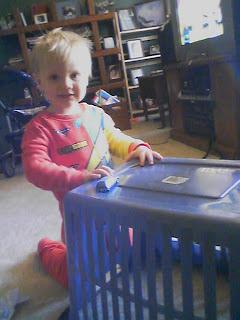 toddler playing cars