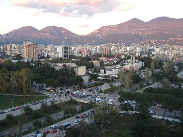 TIRANË: ALBANIA: TIRANË SHQIPËRISË