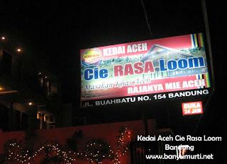 """Kuliner 82- Kedai Aceh """"Cie Rasa Loom"""", Bandung (Jilid II)"""