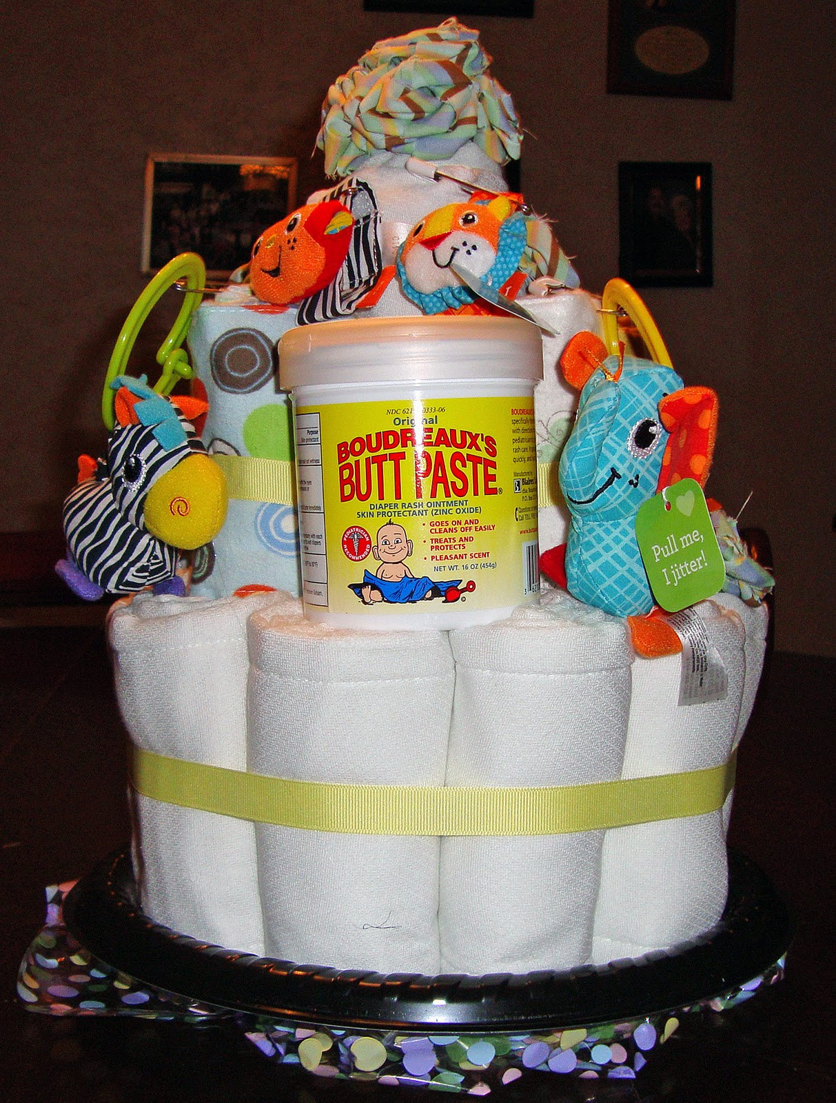 Craftsical The Non Traditional Diaper Cake