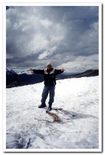 Lic. Jesus Cruz Baras -Nevado de Pastoruri . HUARAZ