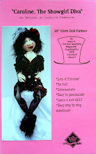 Caroline, The Showgirl Diva Cloth Doll Pattern