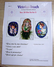 Victorian Beaded Brooch Pattern