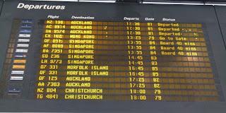 Flyskift i Brisbane, Australien