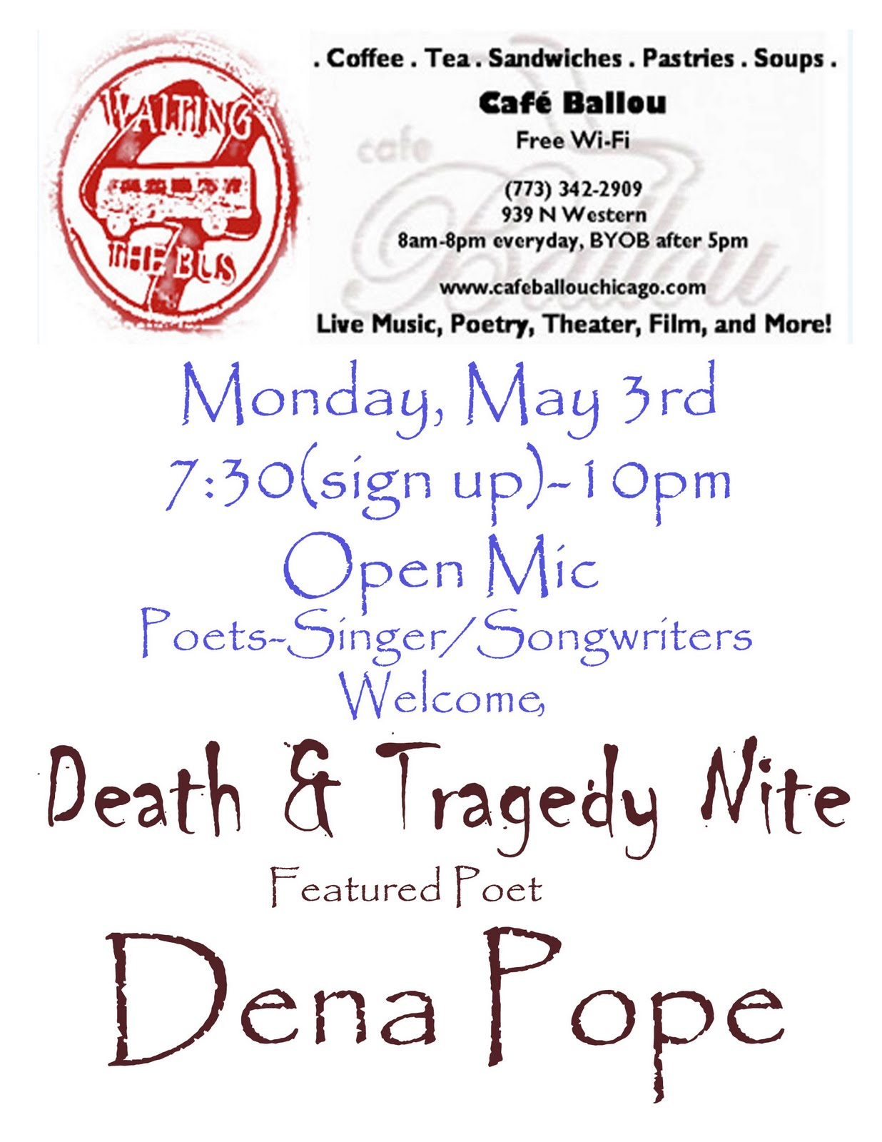 Poetry Cafe Chicago