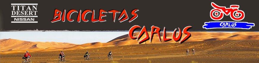 Carlos en la Titan Desert 2009