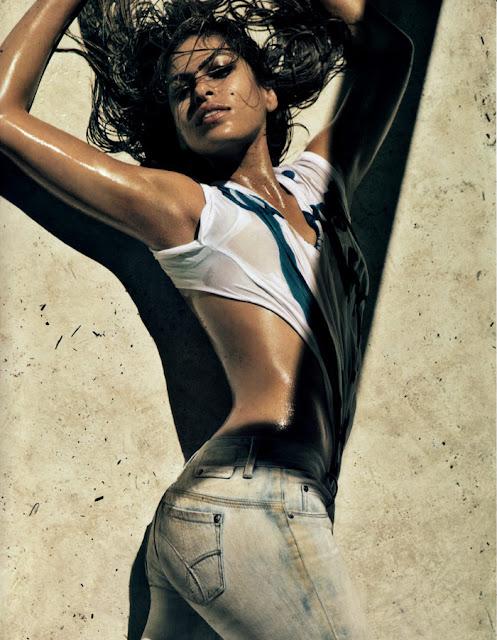 Eva Mendes Calvin Klein 2010