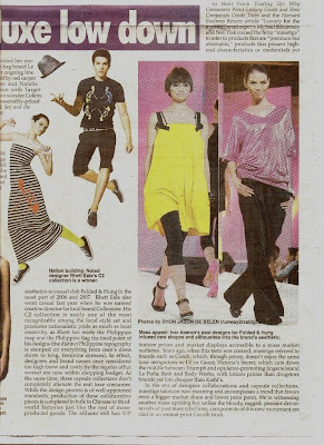 dhon jason de belen ystyle metrowear ana kalaw ivar aseron runway2reality feature philippine star fashion model runway