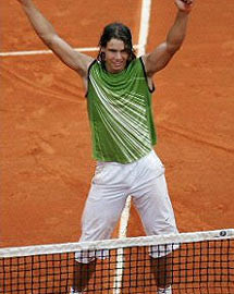 rafael nadal nike fashion wardrobe tennis champion open olympics