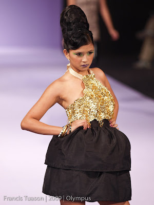 philippine fashion week 2009 grand allure runway models designers photos dax bayani
