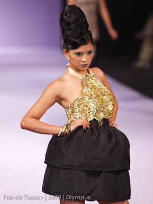 philippine fashion week 2009 grand allure runway models designers photos dax bayani