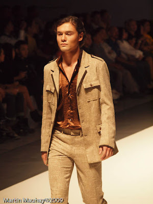 boying estaquio philippine fashion week spring summer 2010