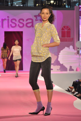 crissa jeans philippine fashion week 2010 spring summer