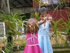anak sedara yang comel dan ceria-ira vs tasya