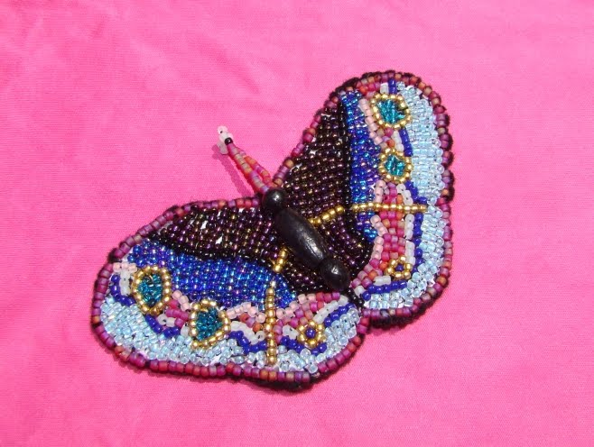 Nancy's Awesome Victorian Seed Beaded Butterflies & More Bead Crafts!