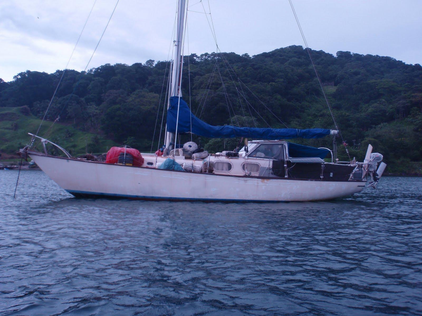 Sailing a Pearson Alberg 35: Sailing the San Blas