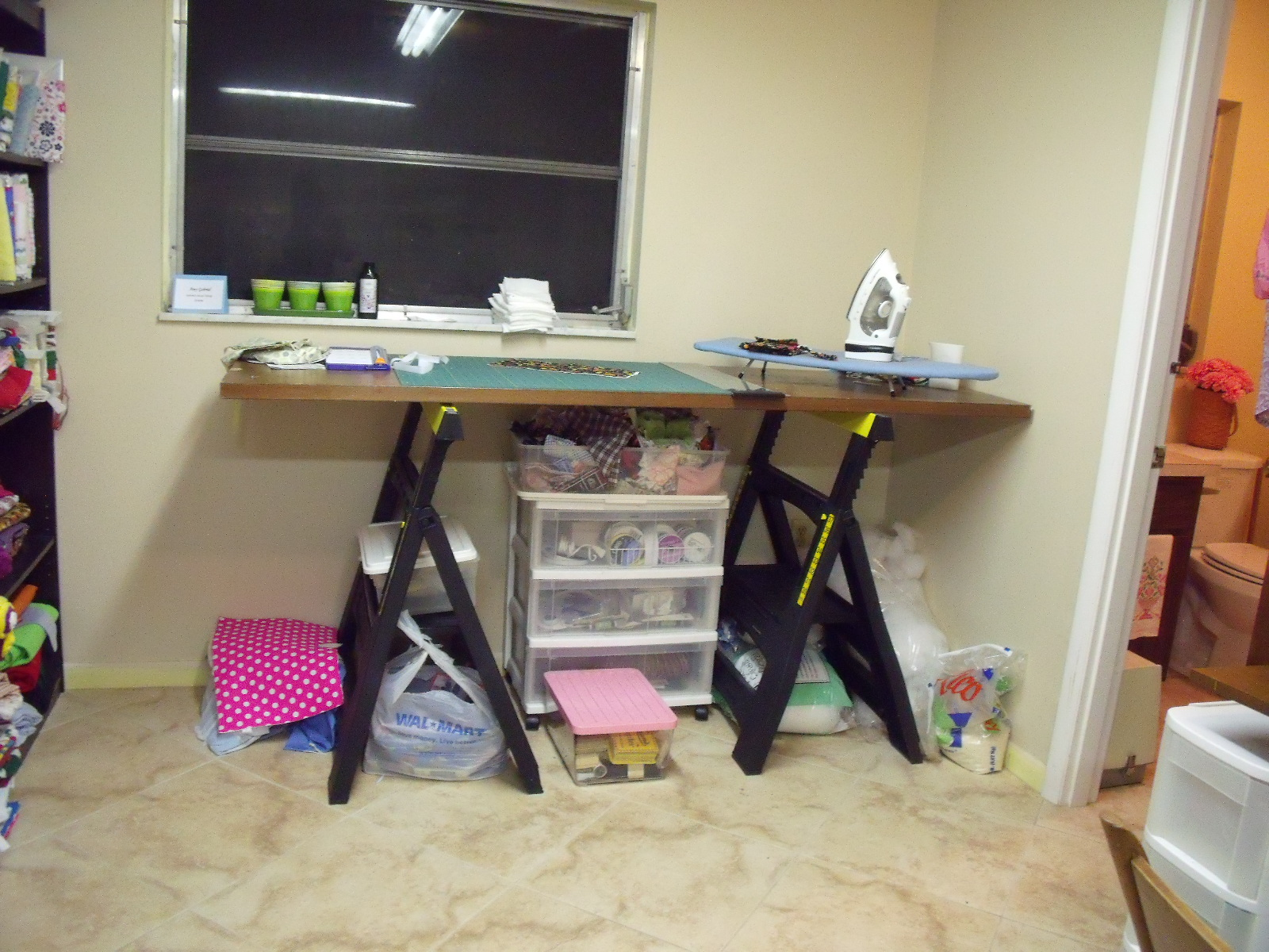 My Sewing Room: Cutting Table title=