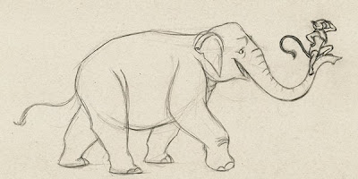 Robbie Erwin: Elephant Sketches