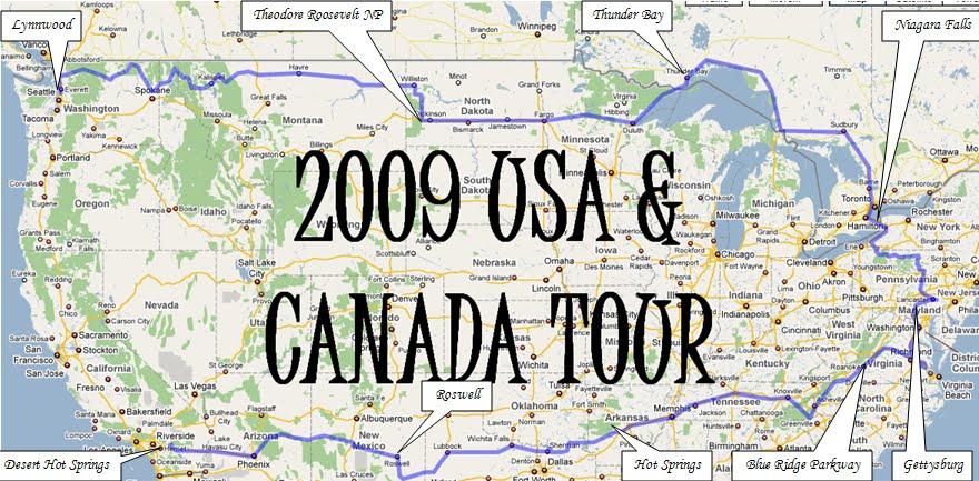 2009 USA trip