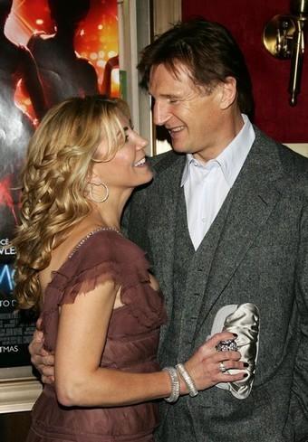 Liam Neeson shows his love for Natasha Richardson ...