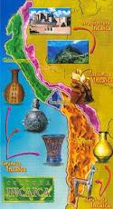Mapa del imperio de los incas