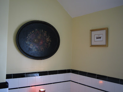 Black And White Tile Bathroom. The original black and white