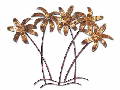 Palm Tree Metal Wall Art palm+tree+wall+art