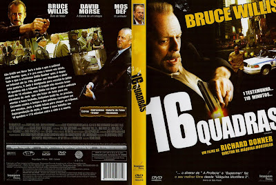 capa de DVD do filme 16 Quadras