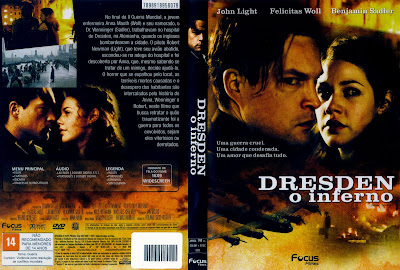 capa de DVD do filme Dresden - O Inferno