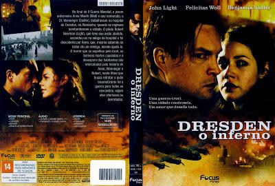 capa de DVD do filme Dresden - O Inferno