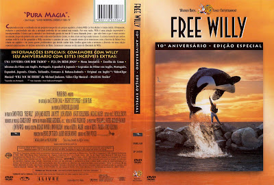 capa de DVD do filme Free Willy