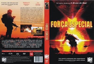 capa de DVD do filme Força Especial