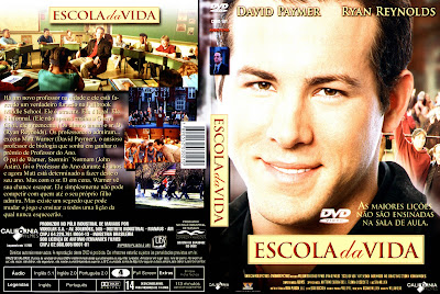 capa de DVD do filme Escola Da Vida