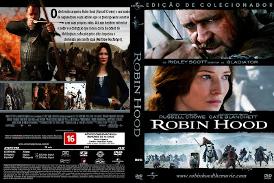 capa de DVD do filme Robin Hood