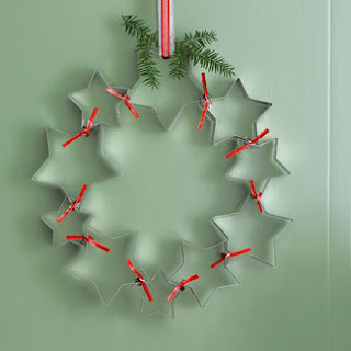 star cookie cutters wreath fb Karácsonyi koszorú különlegességek