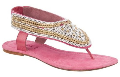 Ravel Full Beaded Sandals