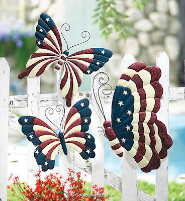 Home and garden coupons july 4 decorations add a for American flag decoration ideas