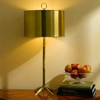 Porter Table Lamp Antique Brass