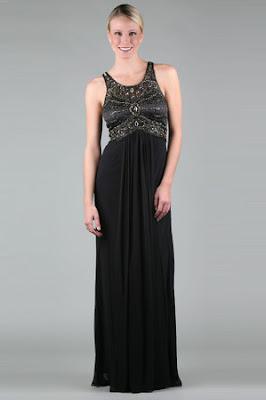 Vintage Beaded Maxi Dress