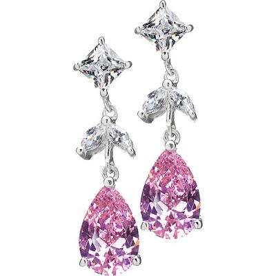 Oveda's CZ Drop Earrings